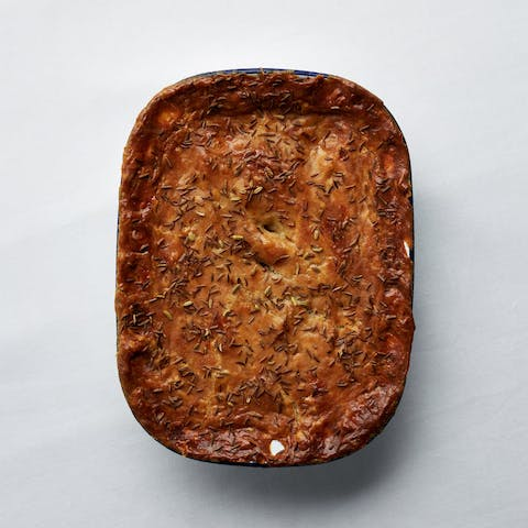 A Spiced Rabbit Pie - 26th or 27th February (Collection Only)